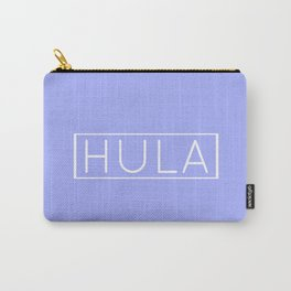HULA (PERIWINKLE) Carry-All Pouch