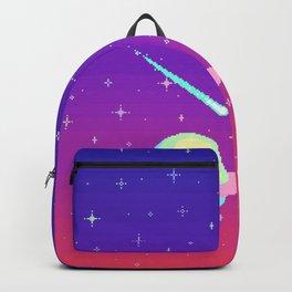 Pixelated Galaxy Backpack