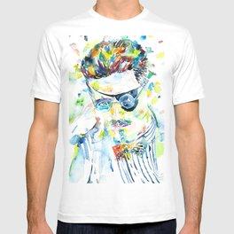 JAMES JOYCE - watercolor portrait.5 T-shirt