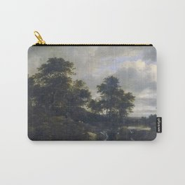Jacob van Ruisdael - Landscape with a Waterfall Carry-All Pouch