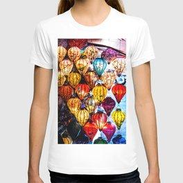 Lanterns of Hoi An, Vietnam I T-shirt