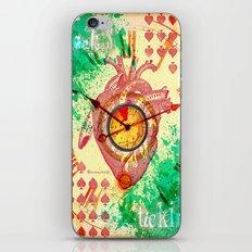 Clock's ticking... iPhone & iPod Skin