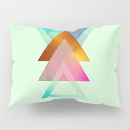 Triangles, 2 Pillow Sham