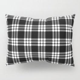 MacFarlane Black + White Tartan Modern Pillow Sham