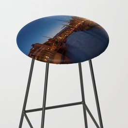 Early evening lights on the Nyhavn Bar Stool