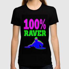 100% RAVER T-shirt