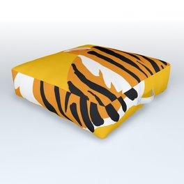 wild jungle cat - 1 Outdoor Floor Cushion