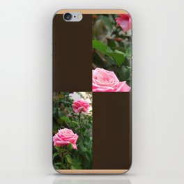 Pink Roses in Anzures 5  Blank Q3F0 iPhone Skin