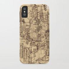San Francisco! (Dusty) iPhone X Slim Case