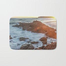 NEW ZEALAND BEACH SUNRISE  Bath Mat