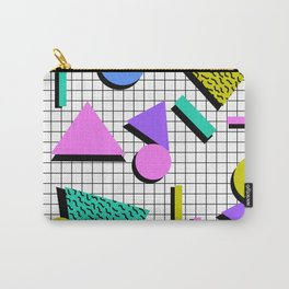 80s Retro Geometric Pattern 2 Carry-All Pouch