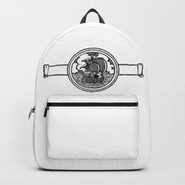 Ship stamp Backpack