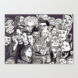 Let's Face It Canvas Print