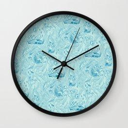 Le Grand Bleu Wall Clock