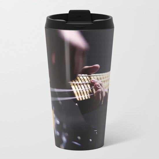 Guitarist Metal Travel Mug