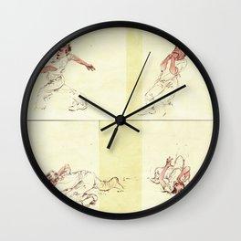 Crooked Creek #4 Wall Clock