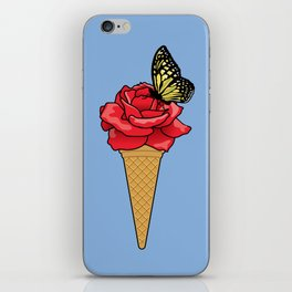 Butterfly Ice Cream iPhone Skin