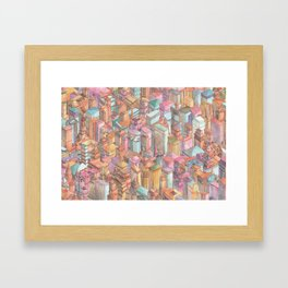 Continuous New York City Framed Art Print