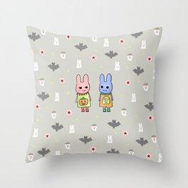 Spooky Cuteness Throw Pillow
