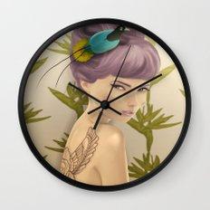 Paradise Bird Wall Clock