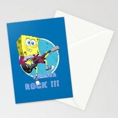 i wanna rock !!! Stationery Cards