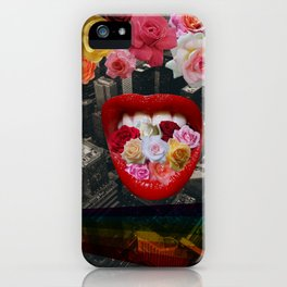 Flower  Vomit iPhone Case