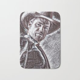 Justified - Timothy Olyphant Bath Mat