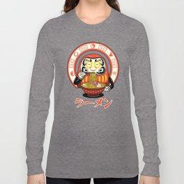 Daruma Zen Ramen Long Sleeve T-shirt