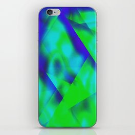 Green Color Package iPhone Skin