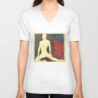 robert farkas V-neck T-shirts featuring Robert by Azure Cricket