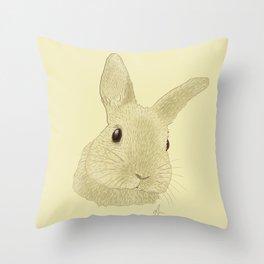 Curious Chris - Drawing Throw Pillow