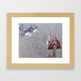 Gossypium hirsutum Framed Art Print