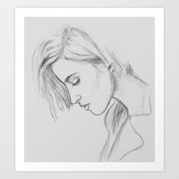 hayley williams Art Prints featuring Hayley Williams  by asir-risa