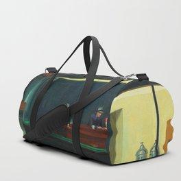 Nighthawks By Edward Hopper Duffle Bag