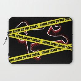 Crime Scene Laptop Sleeve