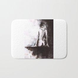 Woman nude Bath Mat