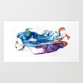 Of Dreams and Wishes Art Print