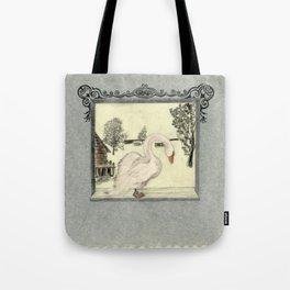 Lado swan Tote Bag