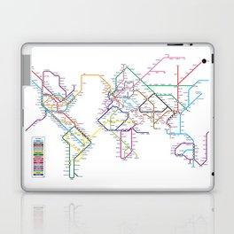 World Metro Subway Map Laptop & iPad Skin