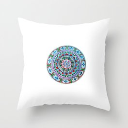 Complex, Imperfect Love Throw Pillow