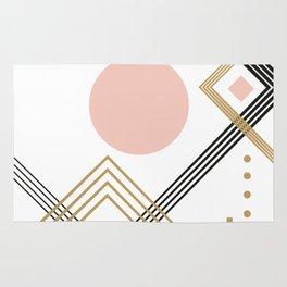 Minimalistic geometrical art Rug