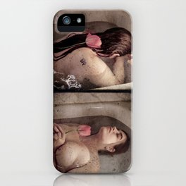 The Lady of Shallot iPhone Case
