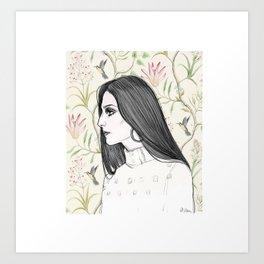 Cher/Pattern Art Print
