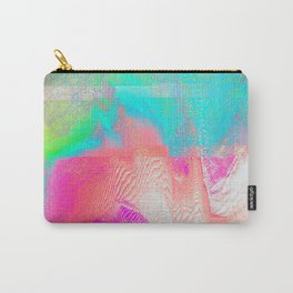 Nous Pneumatic - Glitch Holographic Art Carry-All Pouch