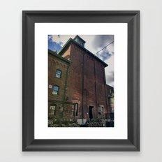 brick 2 Framed Art Print