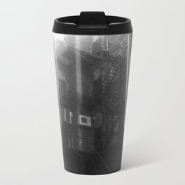 Fire Escape (Sunny) Metal Travel Mug