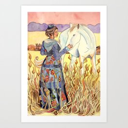 Arlésinne biS Art Print