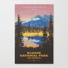 Kluane National Park and Reserve Canvas Print