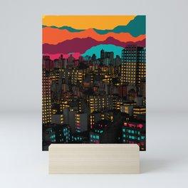 Fragmented III VI Mini Art Print