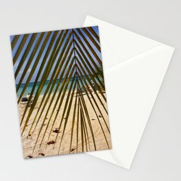 Peeking through the Palms Stationery Cards